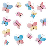 Butterflies (vector) Stock Photography