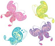 Butterflies. Vector illustration  Stock Image