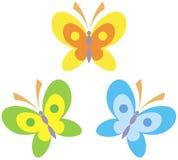 Butterflies vector illustration Stock Image
