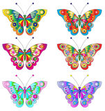 Butterflies vector Royalty Free Stock Image