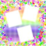 Butterfloes e Rainbow illustrazione vettoriale