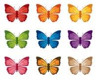 Butterflutter illustrazione vettoriale