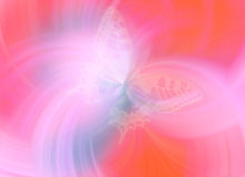 Butterfly. Digital texture Royalty Free Illustration