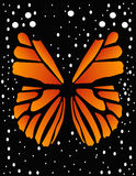 Butterfly. Abstract, vector background for your design Royalty Free Stock Photography