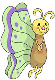 Butterfly. A cute butterfly for your stock illustration
