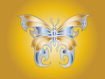 Butterfly. Easy to resize or change color Royalty Free Stock Photography