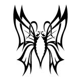 Butterfly. Tattoo vector design beautiful Royalty Free Stock Image