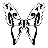 Butterfly. Tattoo vector design beautiful Stock Image