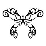 Butterfly. Tattoo vector design beautiful Royalty Free Stock Photos