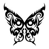 Butterfly. Tattoo vector design beautiful Stock Photography