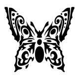 Butterfly. Tattoo vector design beautiful Royalty Free Stock Photo