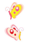Butterfly. Cartoon cute butterfly - its very useful for your logos and art work vector illustration