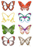 Butterfly 3d Royalty Free Stock Photo