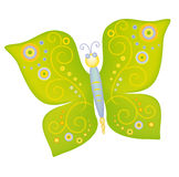 The butterfly(4).jpg. The butterfly drawing pattern design illustration vector Stock Photo