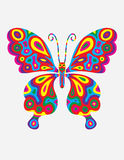 Butterfly abstract colorfully Royalty Free Stock Image