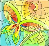 Butterfly. An abstract drawing of plant natural motifs ecology nature sun butterfly stock images