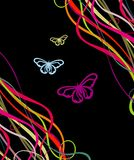 Butterfly abstract illustration Royalty Free Stock Image