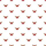 Butterfly archippus sangaris pattern seamless. Butterfly archippus sangaris pattern in cartoon style. Seamless pattern vector illustration Royalty Free Stock Photography