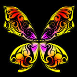 Butterfly art Stock Photography