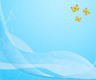 Butterfly background Royalty Free Stock Photos