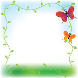 Butterfly Background. Butterfly wallpaper that design with butterfly flying on the sky Stock Photo