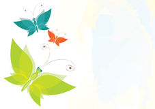Butterfly background Royalty Free Stock Photo