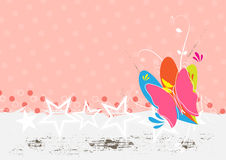 Butterfly background design Stock Photo