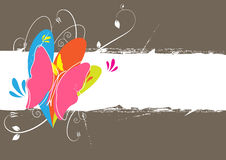 Butterfly background layout. Illustration of butterfly background layout Stock Photo