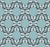 Butterfly Background Pattern Stock Images