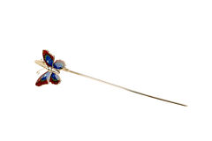Butterfly bookmark stock photos