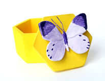 Butterfly Box Royalty Free Stock Photography