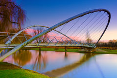 Butterfly Bridge in Bedford, England Stock Images