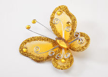 Butterfly brooch Royalty Free Stock Photography