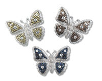 Butterfly brooch Stock Photography