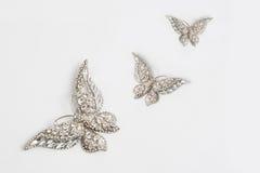 Butterfly brooch Stock Image