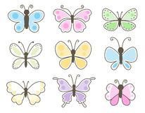 Butterfly / butterflies Royalty Free Stock Image