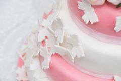Butterfly cake stock photo