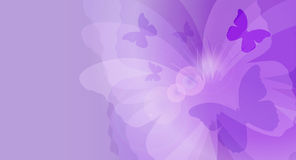 Butterfly card Royalty Free Stock Images