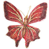 Butterfly Christmas tree ornament Stock Photo
