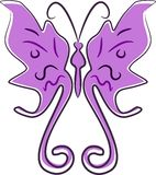 Butterfly Clip Art Royalty Free Stock Photography