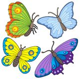 Butterfly collection 2 Stock Photography