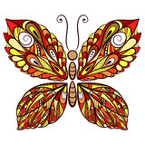 Butterfly01color Obrazy Stock