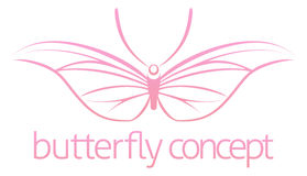 Butterfly concept Stock Photography