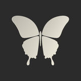 Butterfly conceptual icon Royalty Free Stock Photo