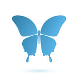 Butterfly conceptual icon Royalty Free Stock Images