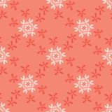 Butterfly Coral Star Flower Blooms. All Over Print Vector. Lacy Floral Seamless Repeating Pattern Backdrop. Hand Drawn Textured Fashion Print, Stylized stock illustration