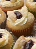 Butterfly Cup Cakes with Strawberry Jam