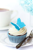 Butterfly cupcake Royalty Free Stock Photo