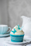 Butterfly cupcake Royalty Free Stock Photography
