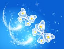 Butterfly and royalty free illustration